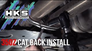 nissan 350z hks hi power exhaust - TH-Clip