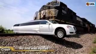 Поезд унес лимузин