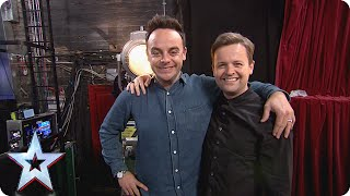 What does The Question Bucket have in store for Ant and Dec? | Britain's Got Talent 2015