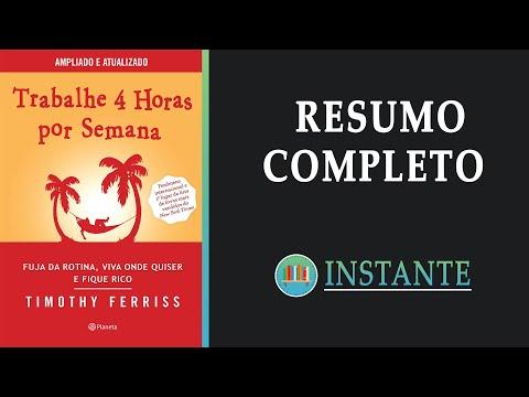 TRABALHE 4 HORAS POR SEMANA - Tim Ferriss - Resumo Completo Audiobook