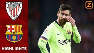 Briljante TER STEGEN Behoedt Barca   Athletic Bilbao Vs Barcelona   La Liga 2018/19   Samenvatting