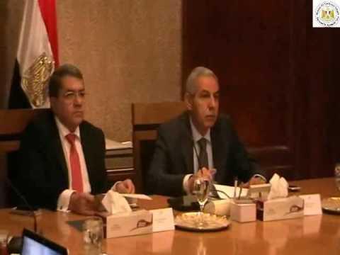 الوزير/طارق قابيل & ووزيرالمالية يترأسا إجتماع مجلس تسيير منظومة التجارة