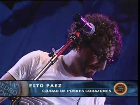 Fito Páez video Ciudad de pobres corazones - San Pedro Rock II / Argentina 2004