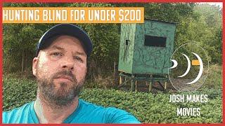 Make A Deer Hunting Blind For Under $200