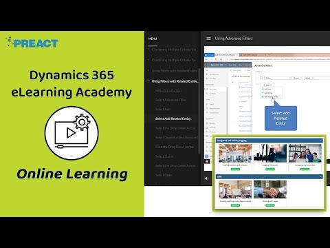 Microsoft Dynamics 365 eLearning - Online Training - YouTube