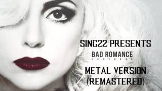 Lady Gaga ft. Halestorm - Bad Romance | Remastered Cover