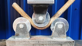 Metal Bender for Hydraulic press very easily