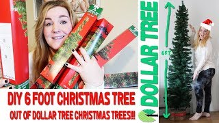 DIY 6ft Pencil Christmas Tree From Dollar Tree Products! | DIY Christmas Tree