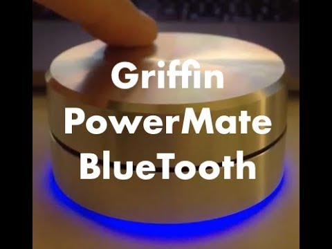 Griffin PowerMate Bluetooth demonstration