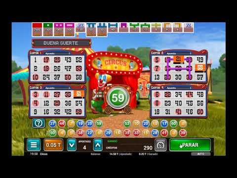 Circus Bingo de MGA - Juego de Bingo Gratis