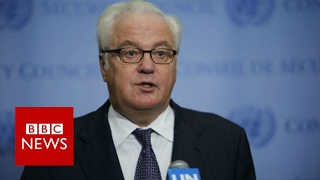 Vitaly Churkin: Russian Ambassador to the UN dies aged 64 - BBC News