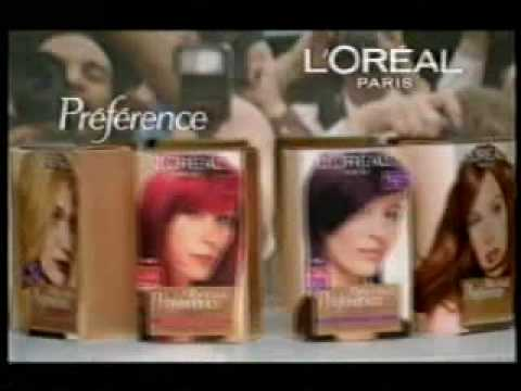 L' Oreal Preference Hair Colour Ad