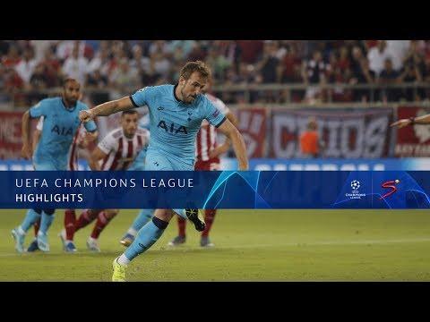 UEFA Champions League | Olympiacos 2 -2  Tottenham