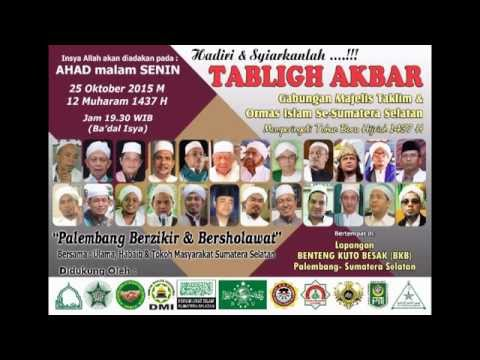 Video Undangan Tabligh Akbar Palembang