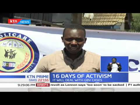 16 days of activism: Police establish a new unit, Policare to deal with gender-based violence cases