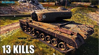 Т30 набил 13 ФРАГОВ за бой 🌟 World of Tanks пт-сау 9 уровень