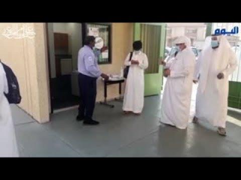 «اليوم» ترصد استقبال الطلاب «المحصنين» في أول أيام الدراسة