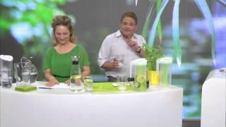 Rosenstein & Söhne Tisch-Wasserfilter, 2,4 Liter, mit Filter-Kartusche