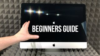 How to Set Up iMac for Beginners | First time Mac users guide