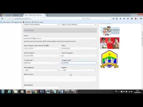 Video CARA DAFTAR PPDB ONLINE SMPN 4 KOTA SERANG