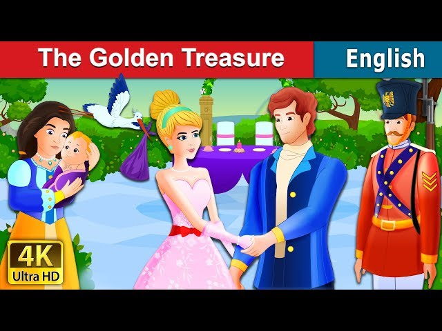The Golden Treasure Story | Bedtime Stories | English Fairy Tales