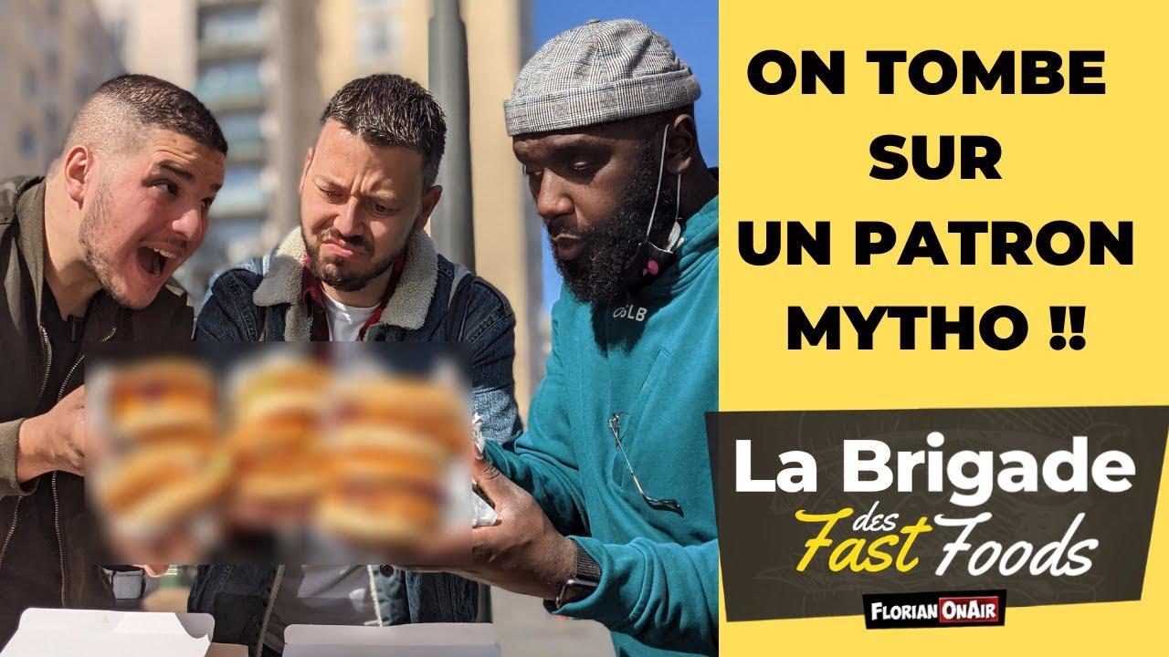 Le PIRE RESTO de la BRIGADE des FAST FOODS (le patron est mytho!) - VLOG 1140