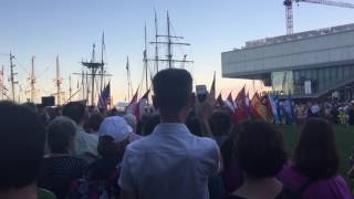 Sail Boston 2017 Closing Ceremony - U.S. National Anthem