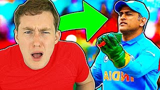 AMERICAN REACTS TO MS DHONI FOR THE FIRST TIME (properly...)