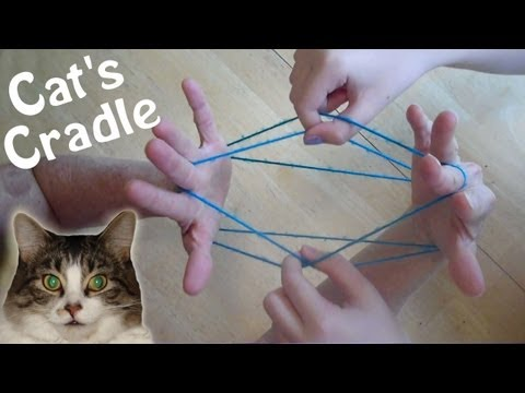 How to do Cat's Cradle EASY! Step by step, with string