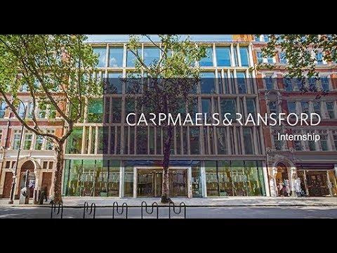 Carpmaels & Ransford – Internship Programme