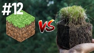 Minecraft vs Real Life 12