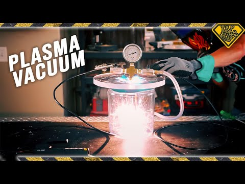 Plasma in a Vacuum Chamber