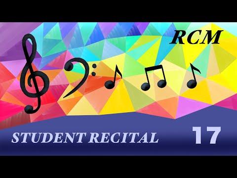 Student Recital, May 17, 6:00PM