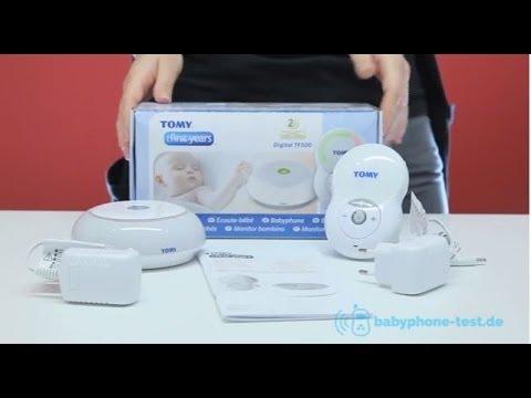 Tomy Digital TF 500 Babyphone im Praxistest: Tomy Digital TF 500 Video Review