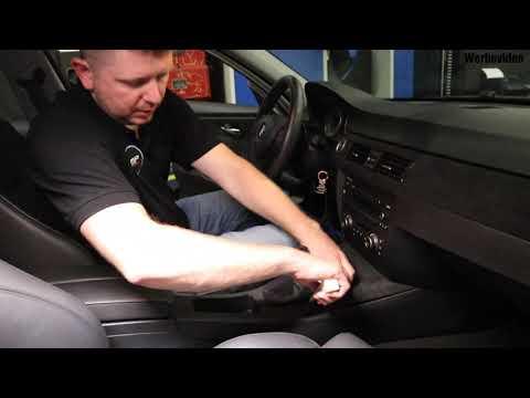 Marx Performance - Nachrüstung Getränkehalter Einbauanleitung BMW E90 E91 E92 E93 Cupholder