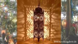 Orientalische Lampen & Laternen * albena Marokko Galerie * Orientlampen