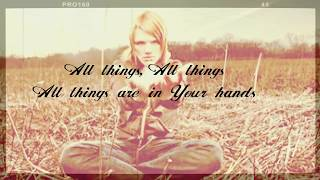 Aaron Gillespie - All Things [Lyric Video]