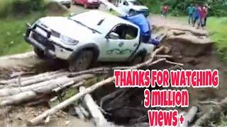 Jembatan Paling berbahaya ke perbatasan malaysia (long nawang-Malinau)
