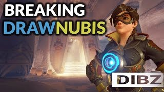 Overwatch: Dive Comp On Temple Of Anubis! Tracer/Mei/Soldier Competitive