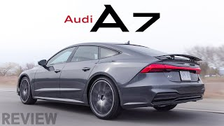 2019 Audi A7 Review - Business in the Front, Party in the Back