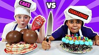 BIRTHDAY CAKE CHALLENGE!!