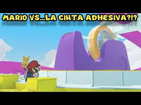 Mario VS... LA CINTA ADHESIVA?!? - Paper Mario Origami King con Pepe el Mago (#22)