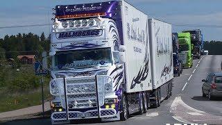 Malmbergs - Scania V8 -  Strängnäs Truck Meet
