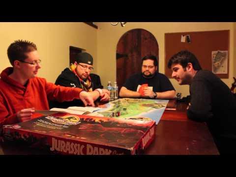 MMM - Jurassic Park The Board Game - Rules