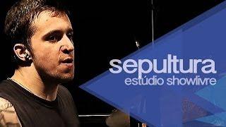 """Sepultura em """"Da lama ao caos"""" no Estúdio Showlivre 2013"""