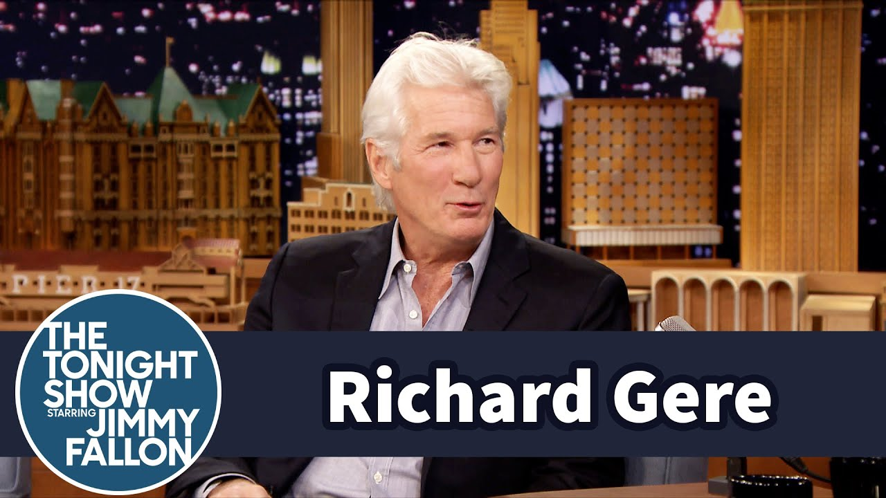 Richard Gere Gets the Tonight Show Crowd Riled Up thumbnail
