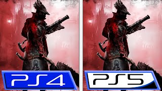 Bloodborne - PS4 vs. PS5
