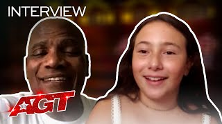 Roberta Battaglia and Archie Williams Chat About Making AGT History! - America's Got Talent 2020 thumbnail