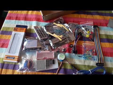 Basic Starter Learning Kit Arduino UNO R3 #Argentina #Unboxing #Banggood #Geekcreit