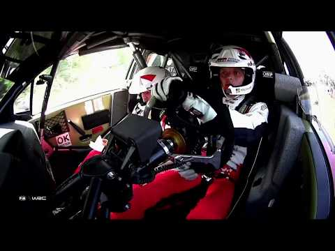 WRC - Neste Rally Finland 2019: Toyota Onboard compilation